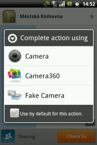 Camera select